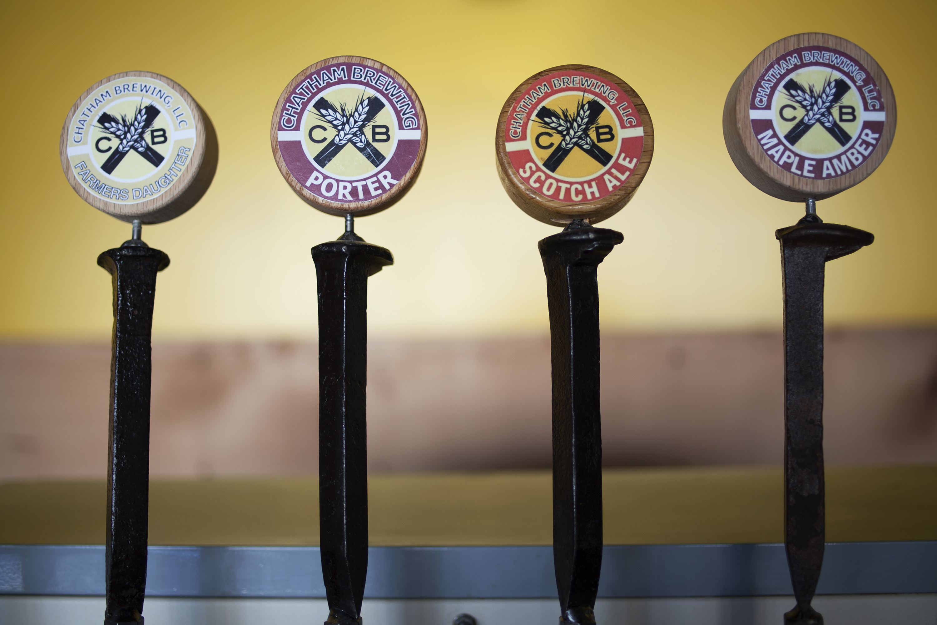 Chatham Brewing Beer Taps